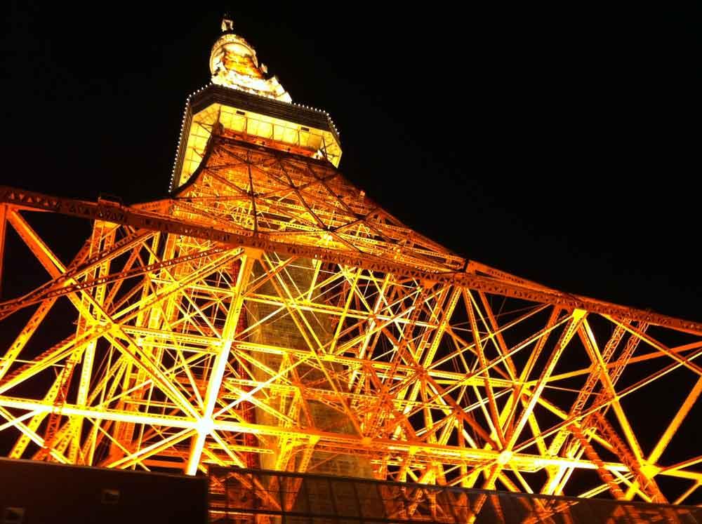 東京タワー下からの写真