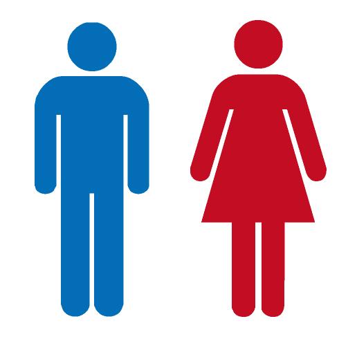 色の先入観(トイレのマーク)